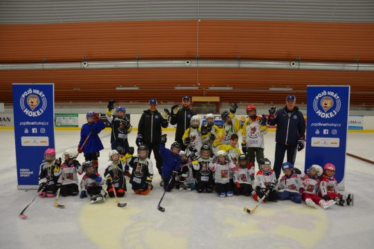 Přijďte ve středu 23. ledna 2019 na zimní stadion v Bystřici na akci Týden hokeje
