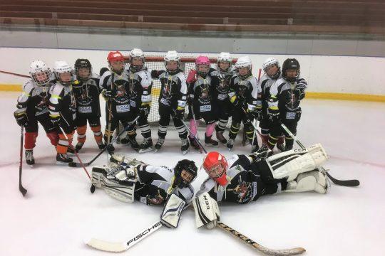 2. třída odehrála v listopadu na domácím ledě turnaj