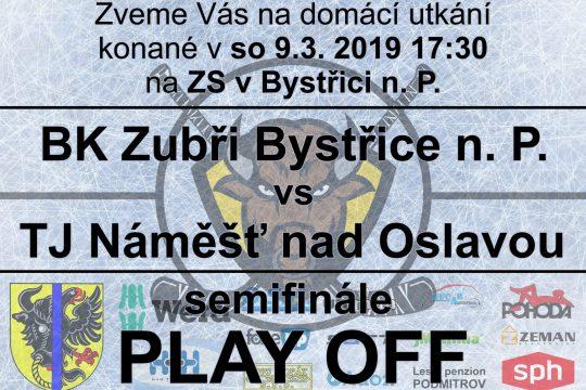 Zubři zvou na semifinále play-off!