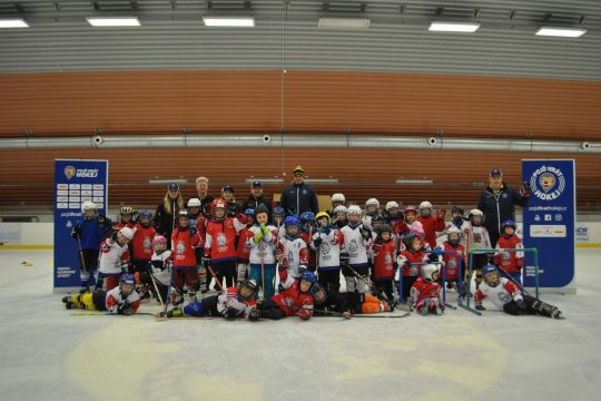 Náborová akce pojď hrát hokej opět zavítala na náš zimní stadion